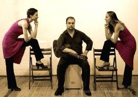 Compasion, avec Anna Rubin et Isabelle Goulet. (Luma R. Brieuc)