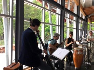 Domaine Forget de Charlevoix, 2015. Trio Francis Leclerc - Marise Demers et Jérémie Jones.
