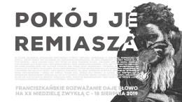 Pokój Jeremiasza: Daję Słowo – XX niedziela C – 18 VIII 2019