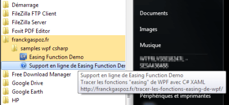"start menu ""franckgaspoz.fr"""