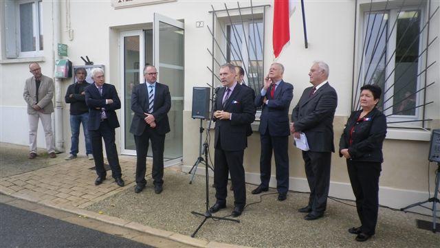 Inauguration de la mairie rénovée de Castillon-Savès
