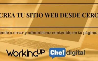 """Curso en Quito: """"Crea tu sitio web desde cero"""""""