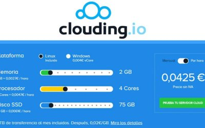 Opinión: Cloud Servers de Clouding.io