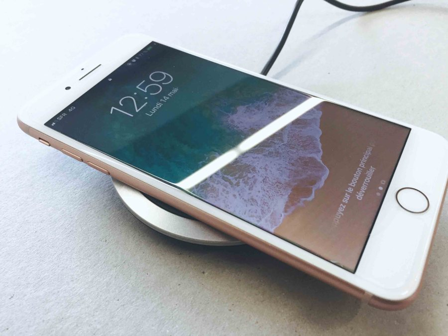 chargeur sans fil torras recharge iPhone 8 Plus