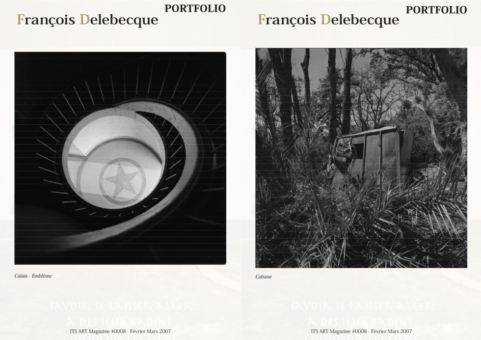 François Delebecque, It's Art Magazine, 2007