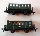 Fleischmann, 2 wagons voyageurs