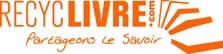 Logo de recyclivre, une stucture qui vend sur internet des livres d'occasion récupérés