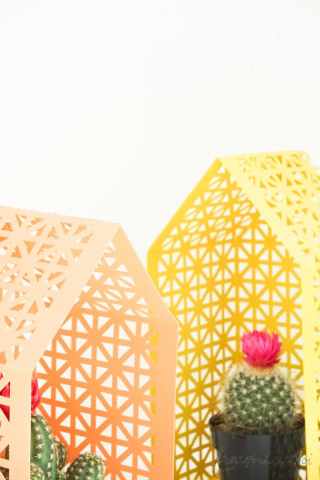 Top DIY Projects of 2015: Lattice House Shelves | Francois et Moi
