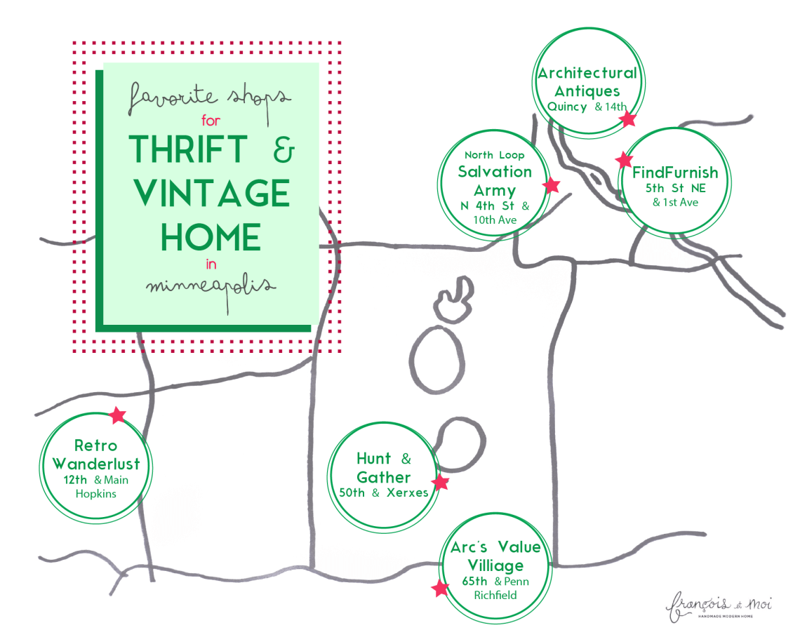 Thrift & Vintage Home Shops in Minneapolis | Francois et Moi