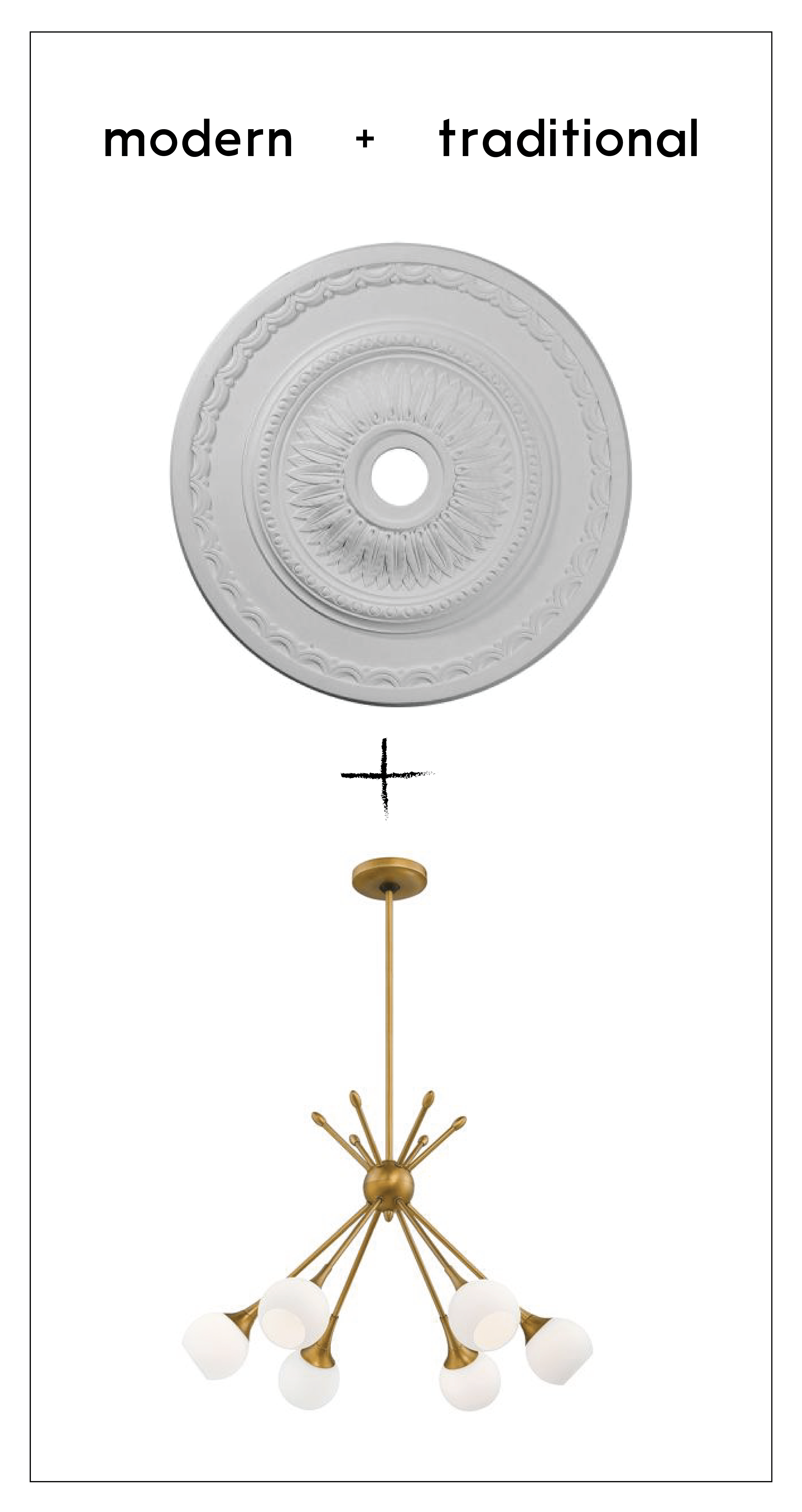 How to center a light fixture using a ceiling medallion francois untitled 1 aloadofball Gallery