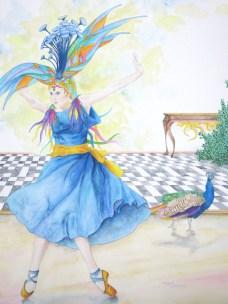 080 La danseuse bleue et l'oiseau 60pp
