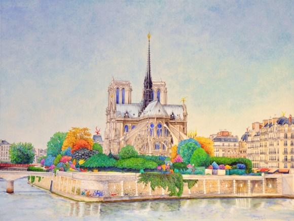 Notre-Dame,Paris,France