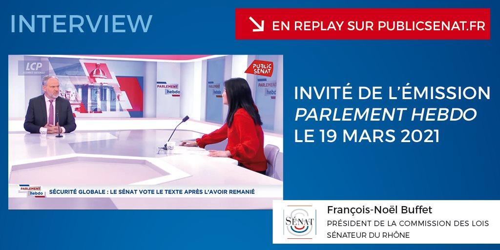 Émission « Parlement Hebdo » sur LCP/Public Sénat – 19/03/2021