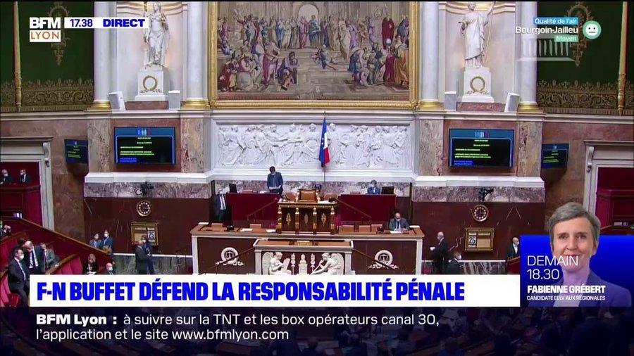 Au micro de BFM Lyon sur la proposition de loi sur l'irresponsabilité pénale – 26/05/2021
