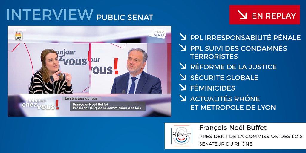 Emission «Bonjour Chez Vous» diffusée sur Public Sénat le 26/05/2021