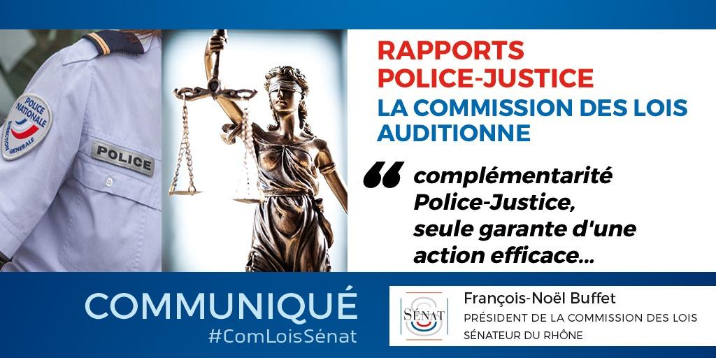 14/06/2021 : Rapports Police-Justice : la commission des lois auditionne