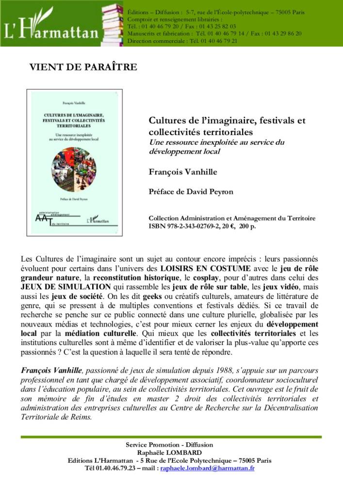 [Culture - Emploi] Répertoire de sites d'Offres d'emploi dans le Secteur Culturel (2/3)