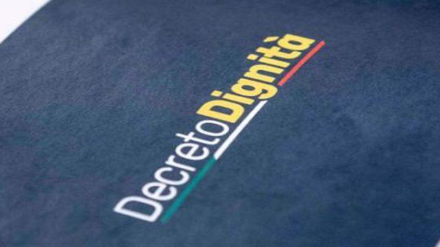 Decreto dignità: sintesi delle novità fiscali