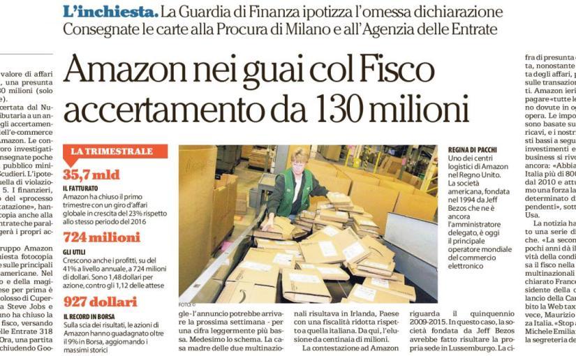 E' veramente colpa di Amazon?