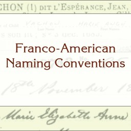 Franco-American Naming Conventions