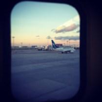 Attendre pour un avion en retard