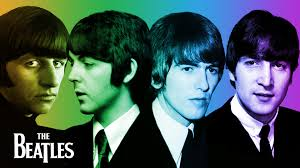 Ringo, Paul, George and John