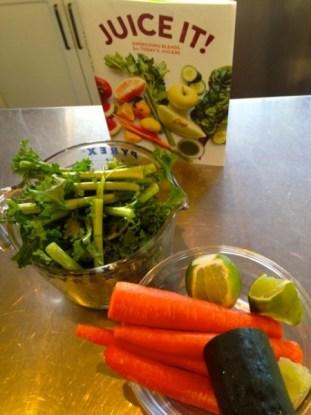 Robin Anbell's Kale Carrot Bonus Round