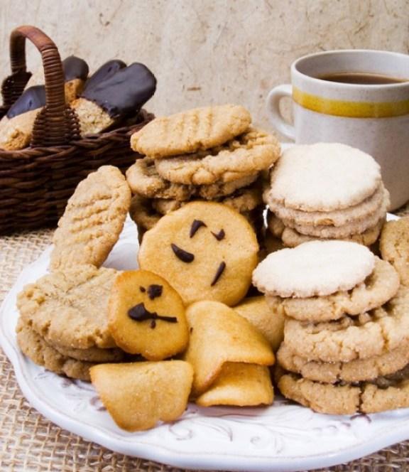Vegan Vanilla Wafer Cookies