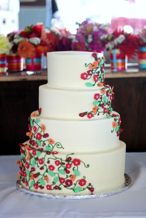 Sweetpea Baking Co. Wedding Cake