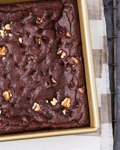 Very Fudgy Chocolate Chip Brownies for National Brownie Day