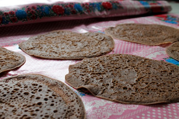 Quick Teff Crepes from Teff Love by Kittee Berns