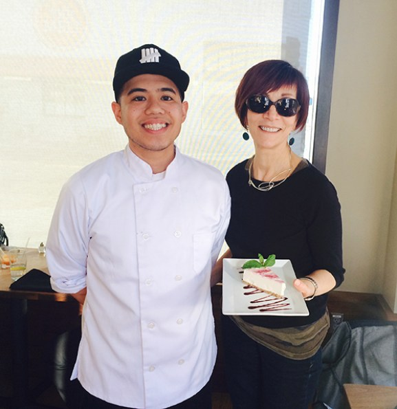 Chef Ameil of Plant Cafe Organic