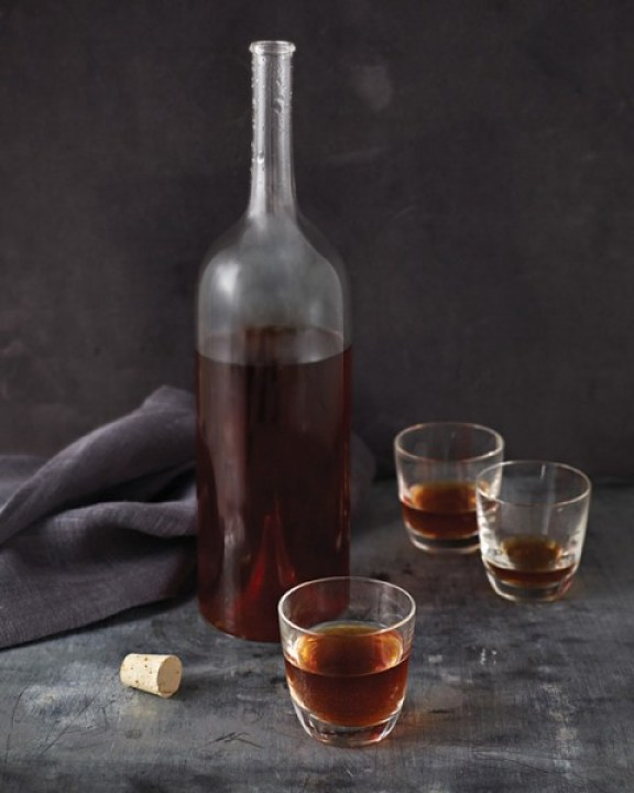 Chocolate Vodka from Vegan Chocolate by Fran Costigan, Photo © Kate Lewis