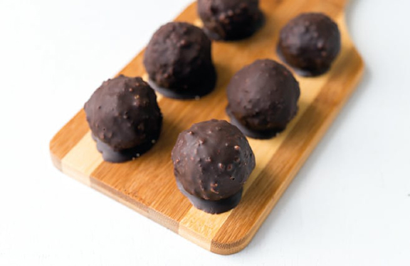 Almond Tahini Truffles from Superfoods 24/7 by Jessica Nadel
