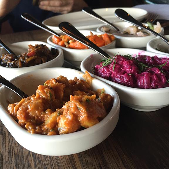 Vegetable Dishes at Zahav