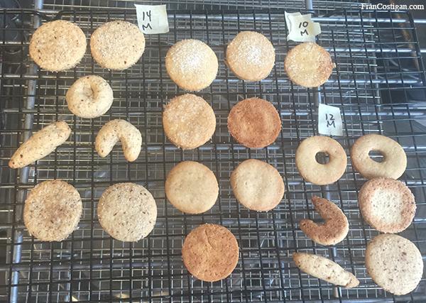 Vegan Vanilla Cookies - Testing