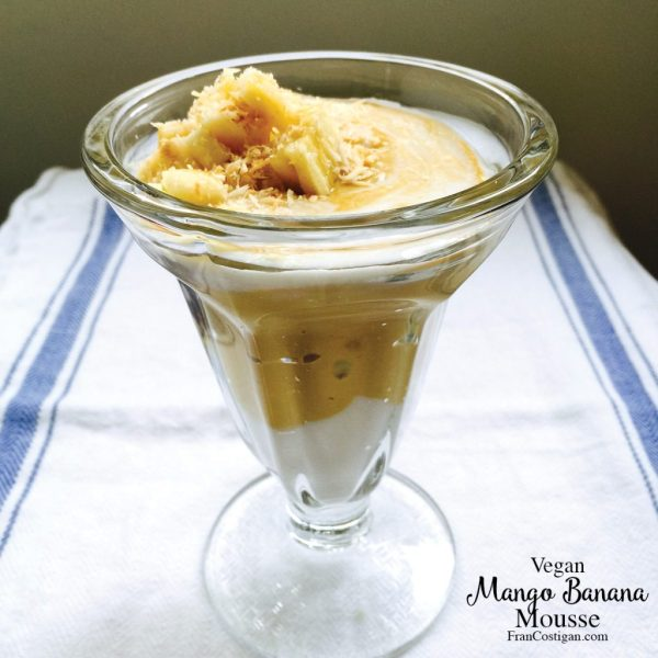 Fran Costigan's vegan Mango Banana Mousse
