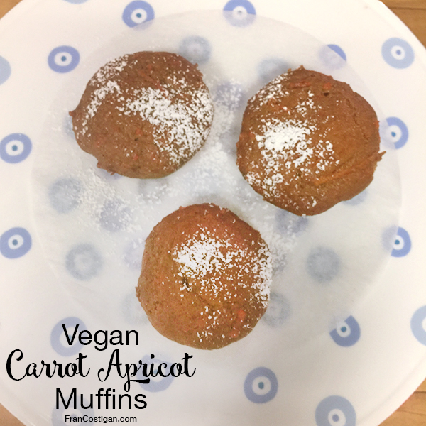 Vegan Carrot Apricot Muffins