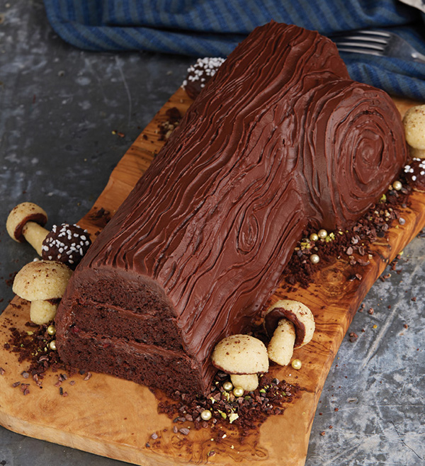 The Christmas Party Cake called Bûche de Noël