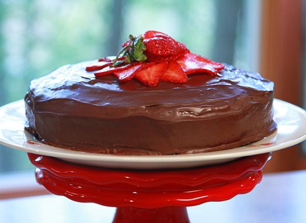 Laura Theodore's Chocolate Ganache Cake