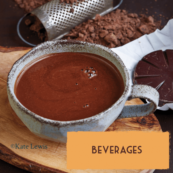 Healthy vegan dairy-free dessert recipes beverages