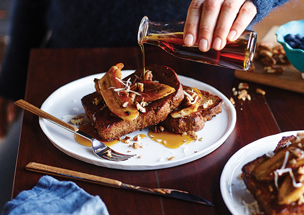 Tess Masters' French Toast with Caramelized Bananas