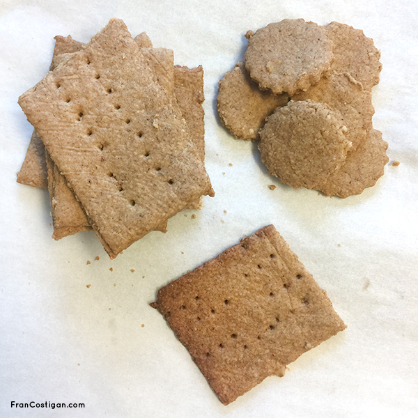 Vegan Cinnamon Oat Graham Crackers