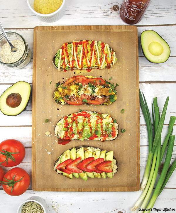 Avocado Toast from What's for Breakfast by Dianne Wenz