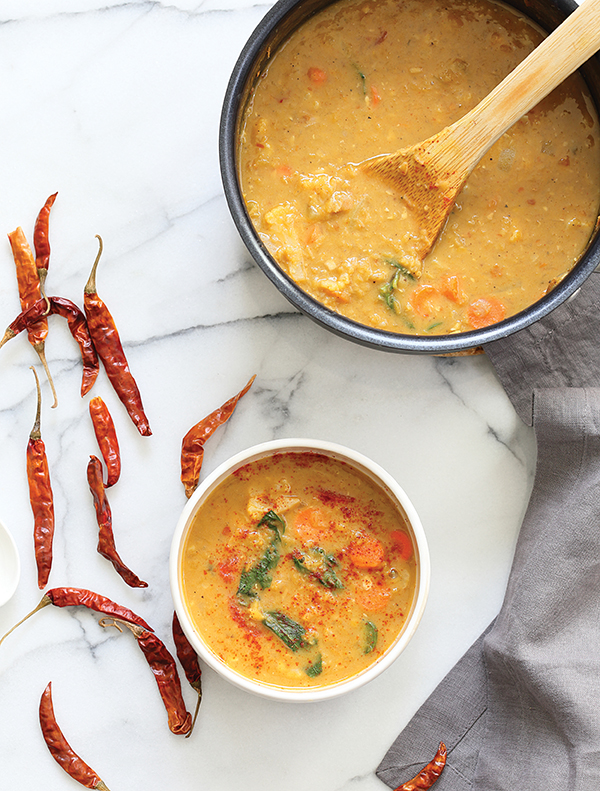 Red Curry Soup with Lentils from Vegan Richa's Indian Kitchen