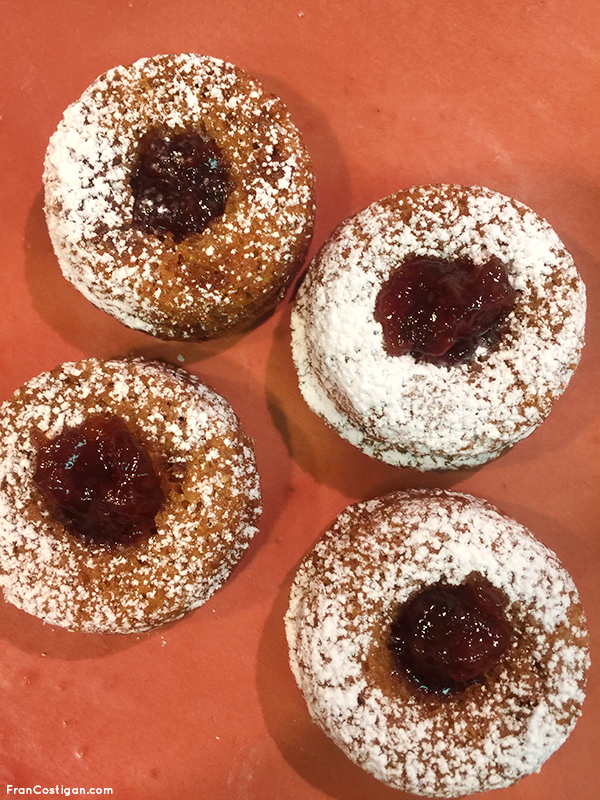 Vegan Hanukkah Spiced Mini Jelly Donuts