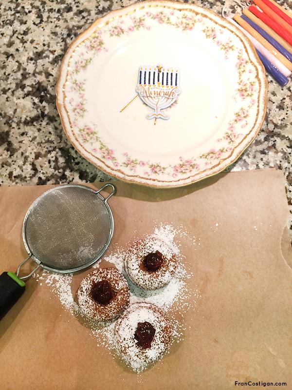 Hanukkah Spiced Mini Jelly Donuts