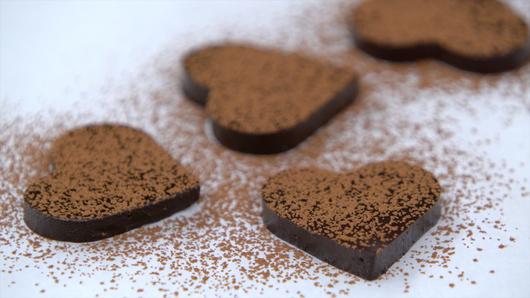 Rouxbe Cocoa Gel Hearts