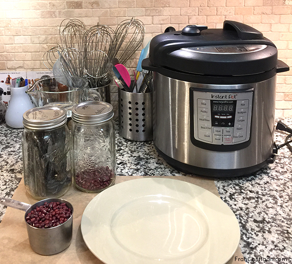 Aduzi Beans Instant Pot Prep