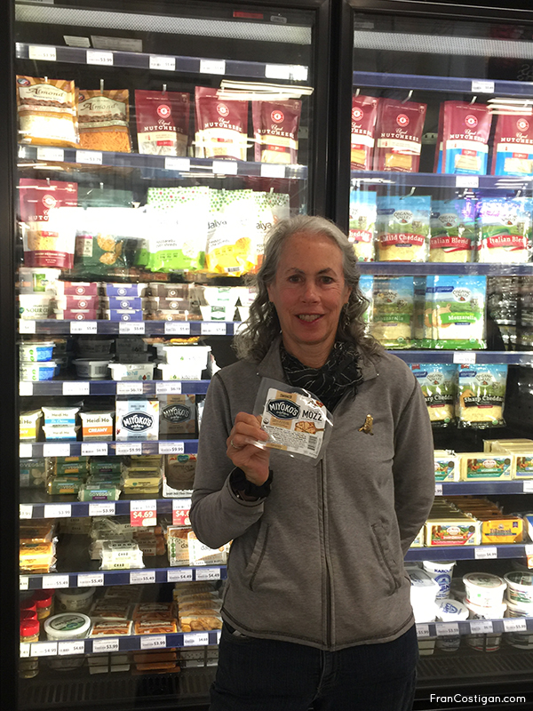 Friends finding friend's products at Mom's Organic Market – Jill with Miyoko's Creamery Butter